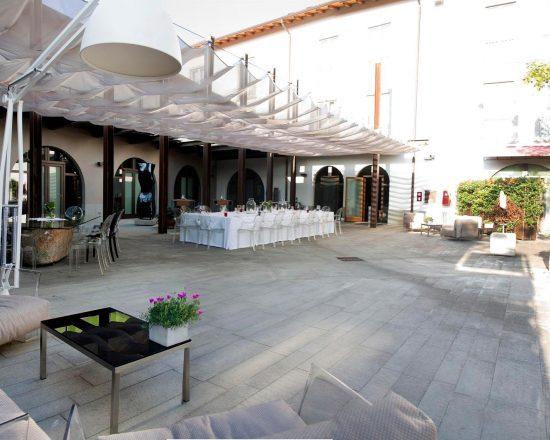 3 ÜF im Hotel Settecento und 1 GF GC Bergamo Albenza