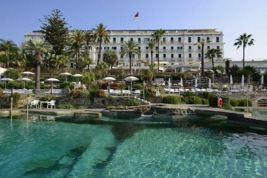 3 noches con desayuno incluido en Royal Hotel Sanremo y 1 Greenfee por persona (Club de Golf degli Ulivi Sanremo)