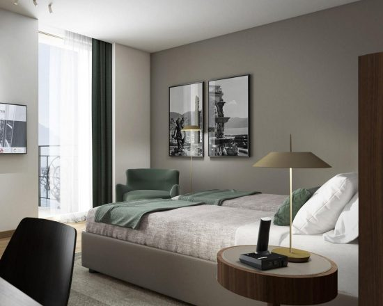 5 Nächte im Grand Hotel Victoria und 2 Greenfee je Person (Menaggio & Cadenabbia Golf Club und Golf Club Villa D'Este)