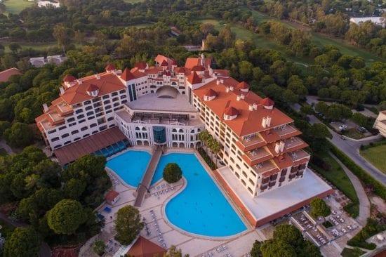 7 Nächte im Sirene Belek Hotel mit all inclusive und 4 Greenfees (GC Antalya - Sultan)