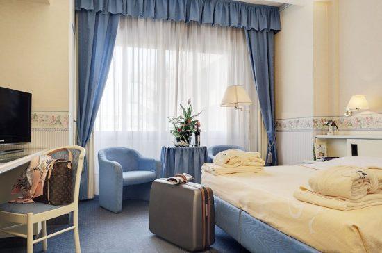 5 Nächte im Hotel Terme Bristol Buja und 2 Greenfee je Person (Golf della Montecchia und Padova)