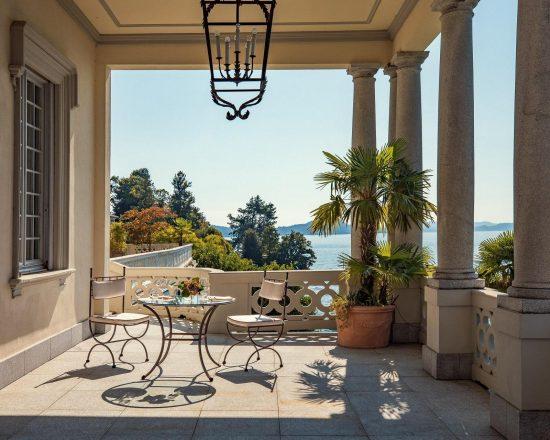 7 Nächte im Grand Hotel Majestic und 3 Greenfee je Person (Golfclub Golf Des Iles Borromees, Alpino di Stresa und Bogogno)