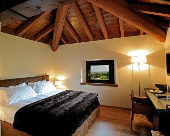7 Nächte in der Foresteria Maison Gardagolf und 3 Greenfee je Person (Golfclub Gardagolf, Arzaga und Chervo)
