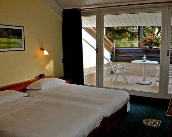 5 nights with breakfast at Golf Hotel La Pinetina and two green fees per person (La Pinetina Golf Club and Monticello)
