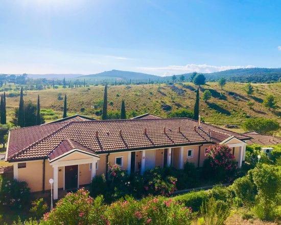 7 Nächte im Il Pelagone Hotel & Golf Resort Toscana und unlimited Green Fees (Golfclub Toscana plus 1 GF GC Punta Ala und Argentario)
