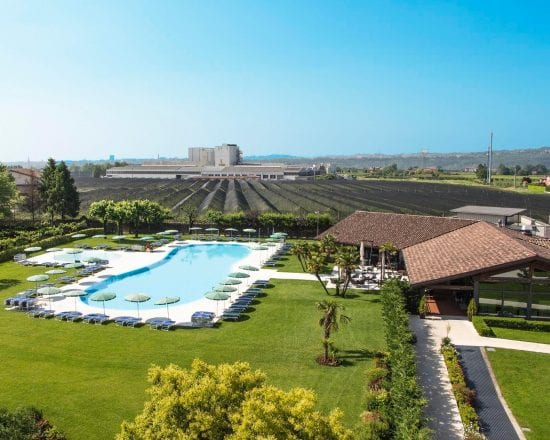 7 Nächte im Villa Quaranta Tommasi Wine Hotel & Spa und 3 Greenfee je Person (Golf Club Verona, Paradiso del Garda und Ca degli Ulivi)