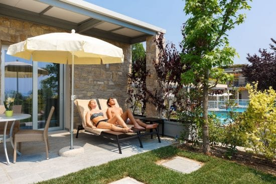 7 Nächte im Parc Hotel Germano und 3 Greenfee je Person (Golfclub Ca degli Ulivi, Paradiso del Garda und Chervo)